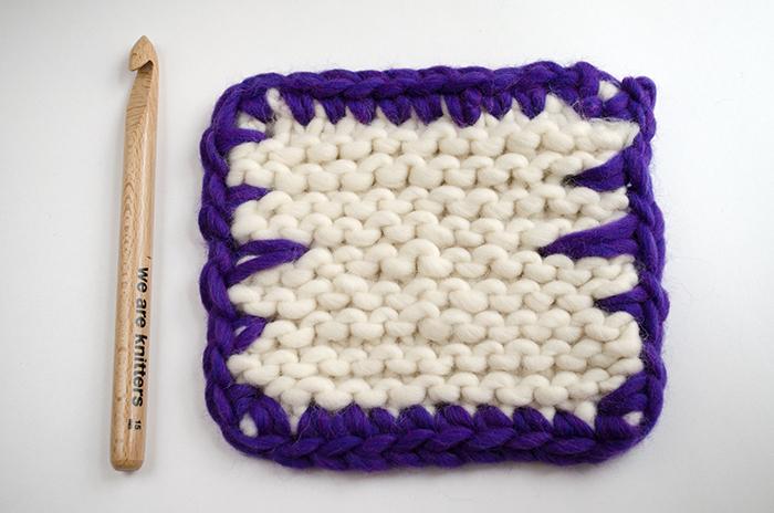 Cómo terminar tus proyectos con Blanket stitch