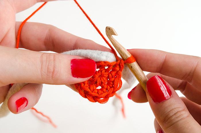 Patron gratuit : tapis en trapilho et coton