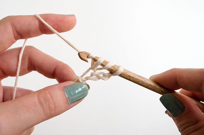 Guirlande en crochet