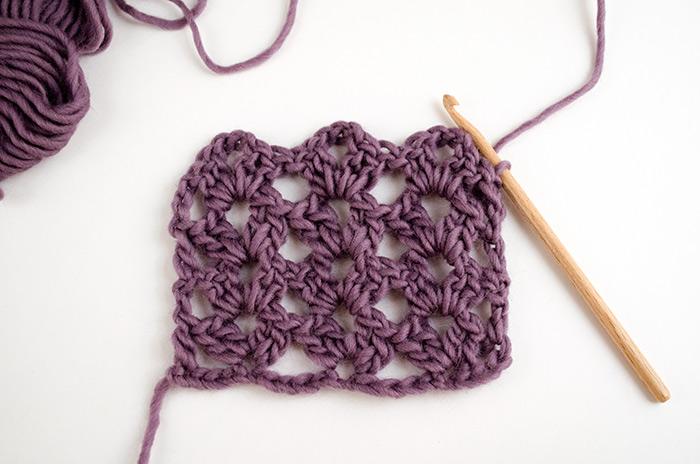 punto calado en crochet